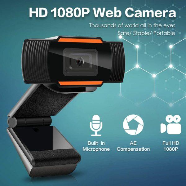 1080p Hd Webcam With Microphone Usb Web Camera For Pc Laptop Desktop Computer (19)