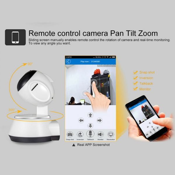 1080p Hd Wireless Wi Fi Smart Home Ip Cctv Camera Indoor Security Night Vision (13)