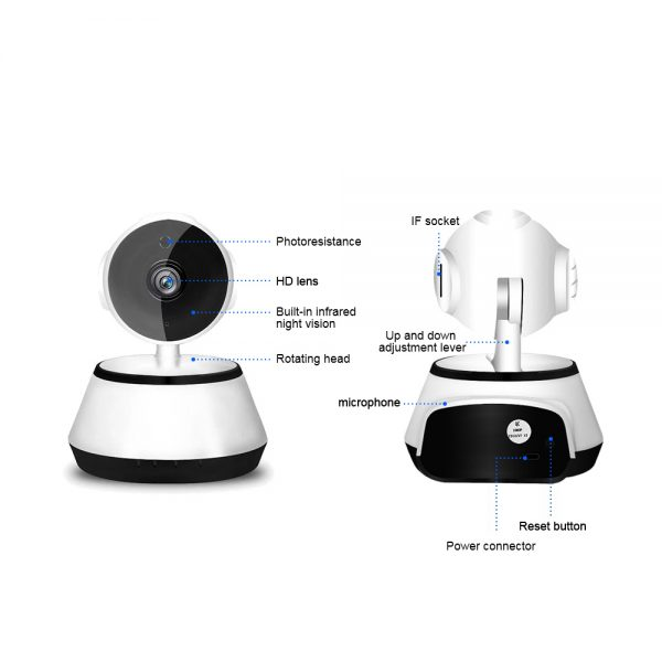 1080p Hd Wireless Wi Fi Smart Home Ip Cctv Camera Indoor Security Night Vision (14)