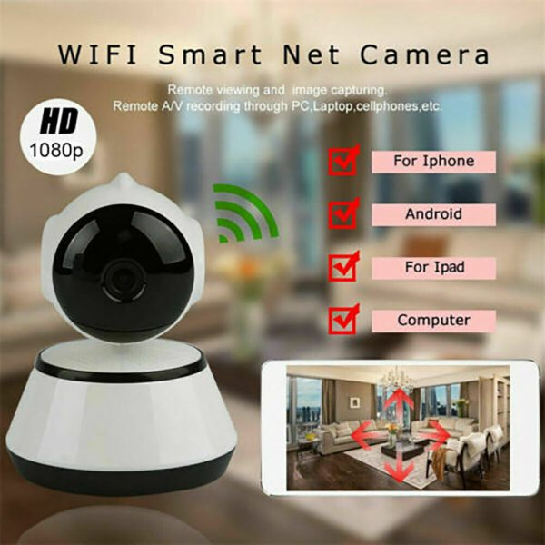 1080p Hd Wireless Wi Fi Smart Home Ip Cctv Camera Indoor Security Night Vision (16)