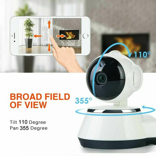 1080p Hd Wireless Wi Fi Smart Home Ip Cctv Camera Indoor Security Night Vision (6)
