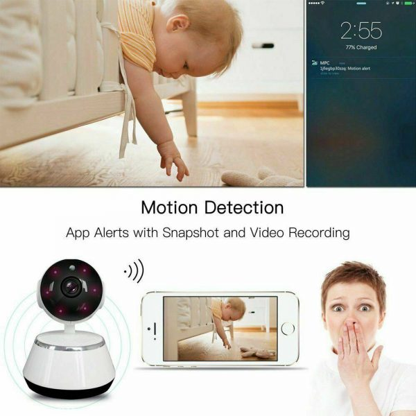 1080p Hd Wireless Wi Fi Smart Home Ip Cctv Camera Indoor Security Night Vision (8)
