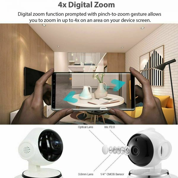 1080p Hd Wireless Wi Fi Smart Home Ip Cctv Camera Indoor Security Night Vision (9)