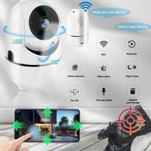 1080p Wireless Cctv Ip Camera Cloud Wifi Camera Auto Tracking Home Security (1)