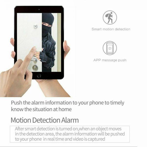 1080p Wireless Cctv Ip Camera Cloud Wifi Camera Auto Tracking Home Security (10)