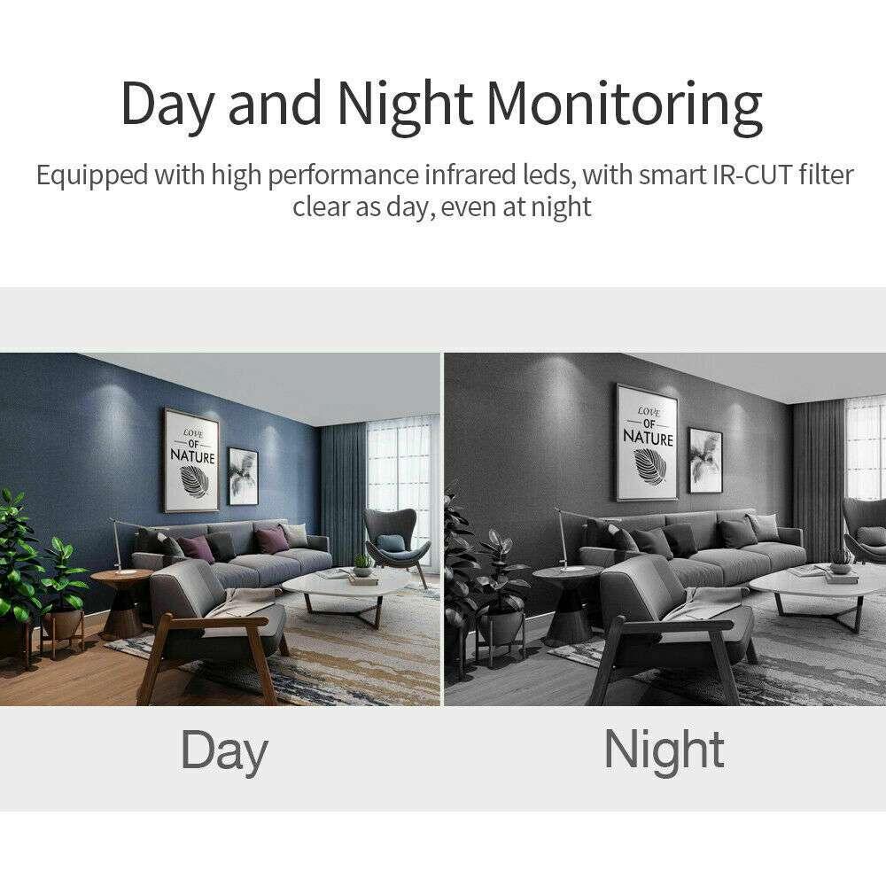 1080p Wireless Cctv Ip Camera Cloud Wifi Camera Auto Tracking Home Security (11)