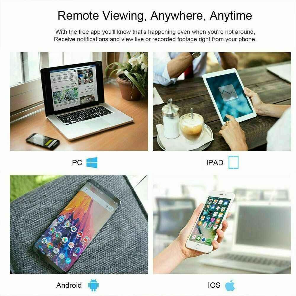 1080p Wireless Cctv Ip Camera Cloud Wifi Camera Auto Tracking Home Security (12)