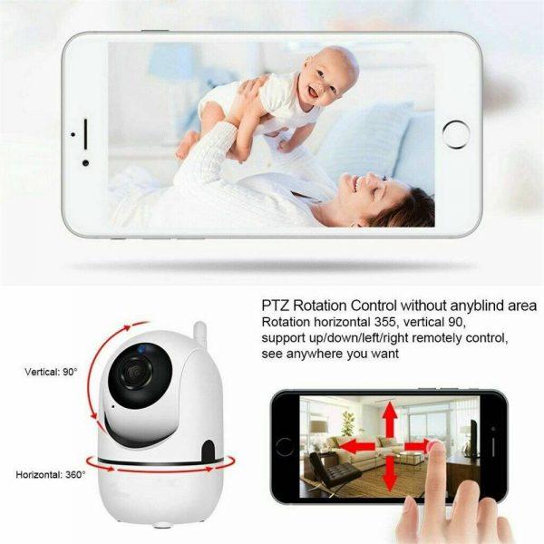1080p Wireless Cctv Ip Camera Cloud Wifi Camera Auto Tracking Home Security (4)