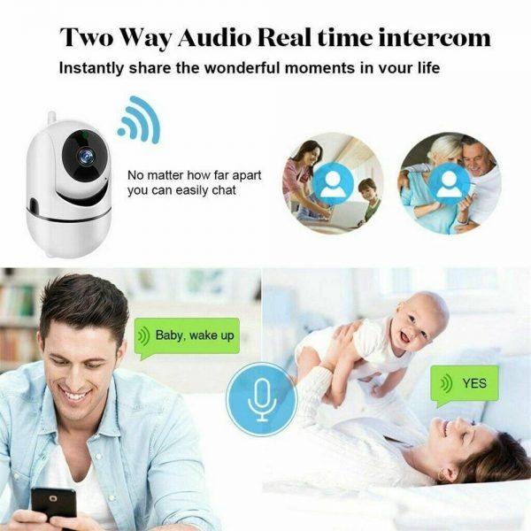 1080p Wireless Cctv Ip Camera Cloud Wifi Camera Auto Tracking Home Security (5)