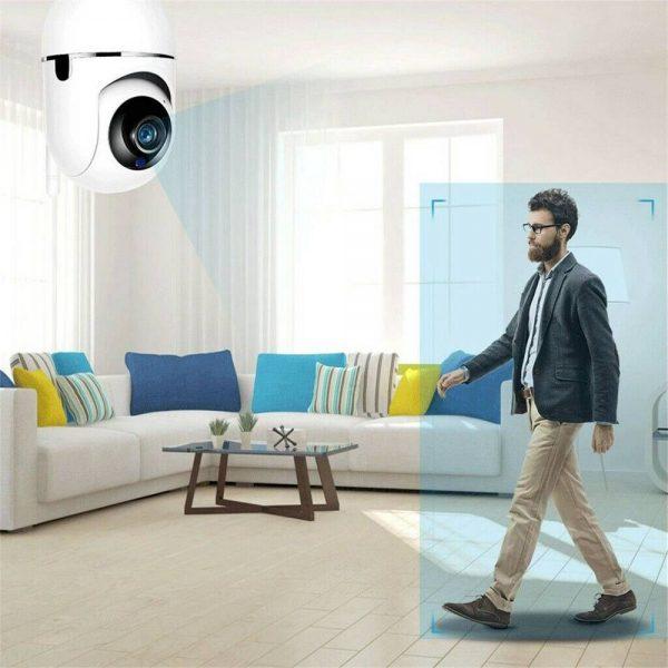 1080p Wireless Cctv Ip Camera Cloud Wifi Camera Auto Tracking Home Security (6)