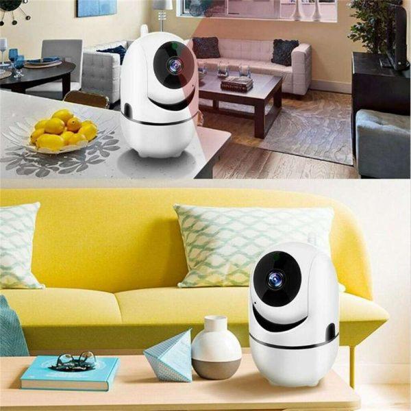 1080p Wireless Cctv Ip Camera Cloud Wifi Camera Auto Tracking Home Security (7)