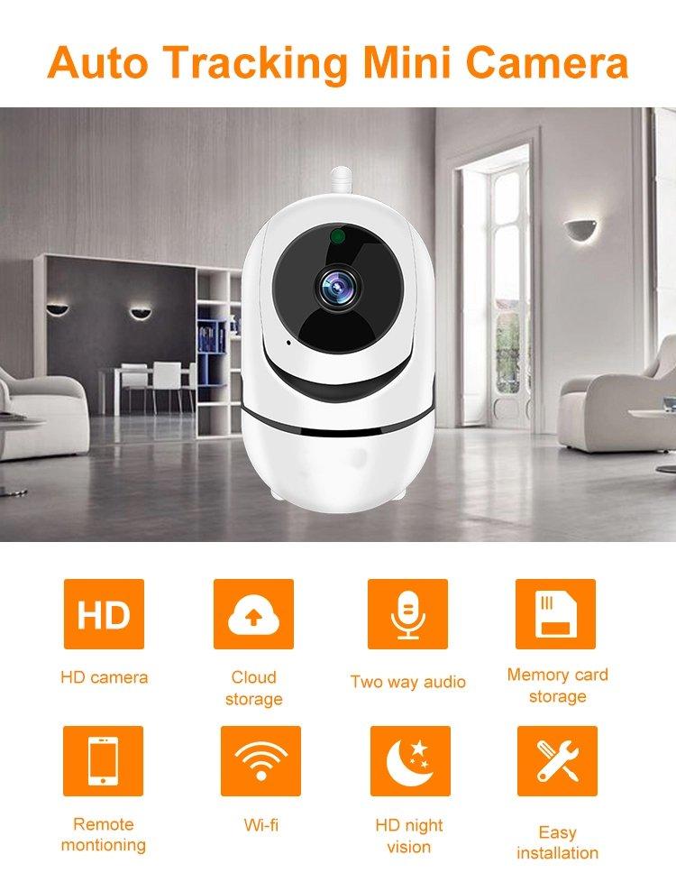 1080p Wireless Cctv Ip Camera Cloud Wifi Camera Auto Tracking Home Security (8)