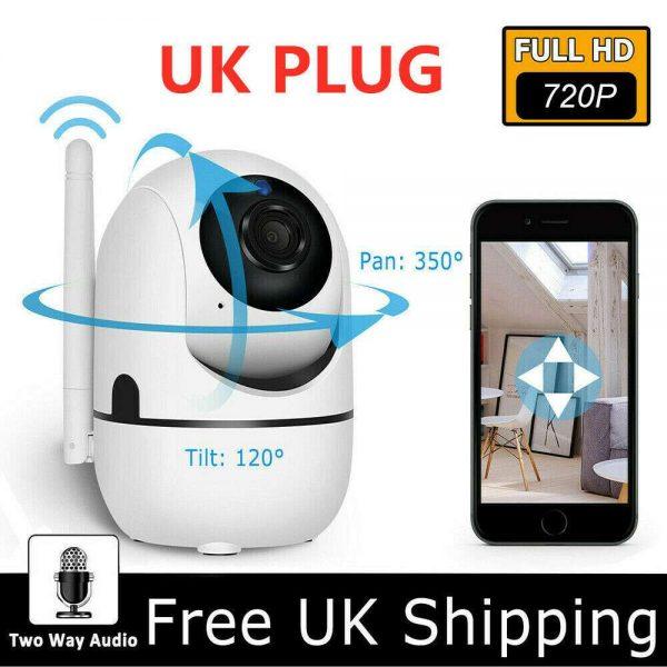 1080p Wireless Cctv Ip Camera Cloud Wifi Camera Auto Tracking Home Security (9)