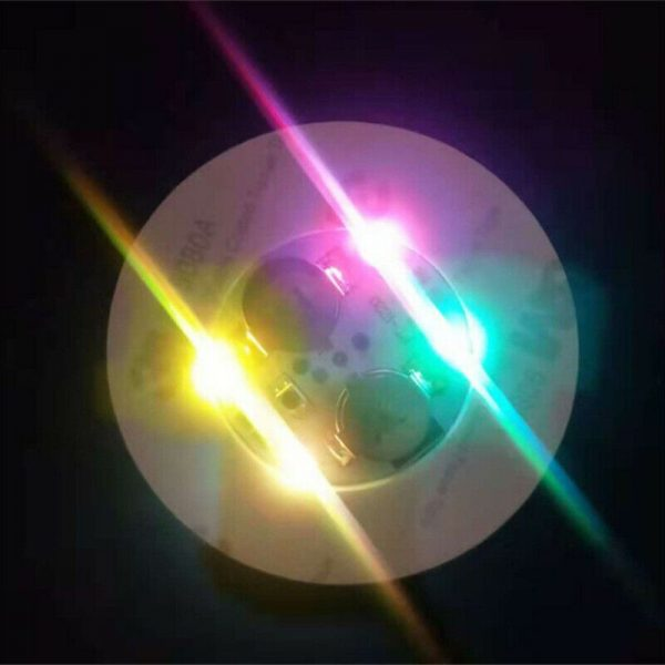 10pcs Led Coaster Light Up Drink Bottle Cup Mat Glow Club Party Bar Decor New (101)