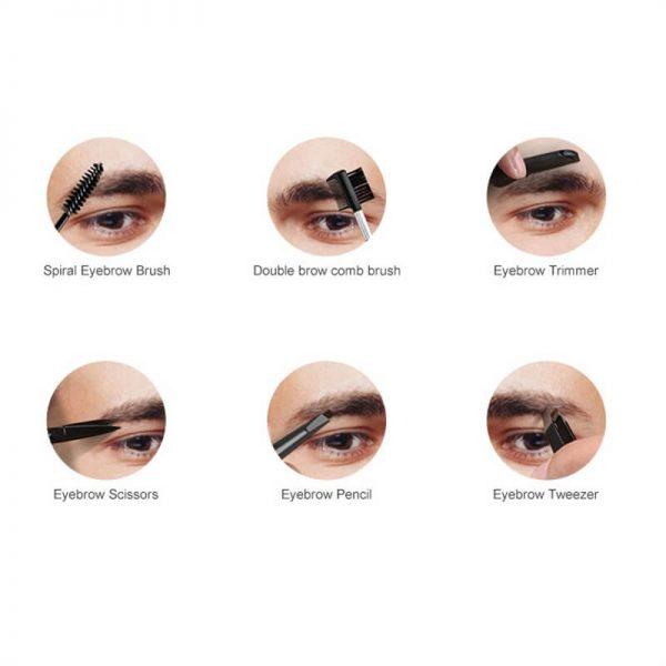 18 Pcs Manicure Pedicure Set Manicure Cutters Nail Clipper Set Hygiene Kit Toenail Clippers Include Cuticle Remover (11)