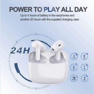 2021 Bluetooth 5.0 Headset Tws Wireless Earphones Mini Earbuds Stereo Headphones (6)