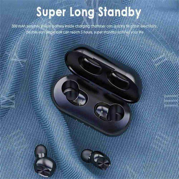 2021 Bluetooth 5.0 Wireless Headphones Earphones Mini In Ear Earbuds Android & Ios (10)