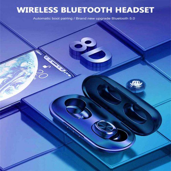 2021 Bluetooth 5.0 Wireless Headphones Earphones Mini In Ear Earbuds Android & Ios (14)