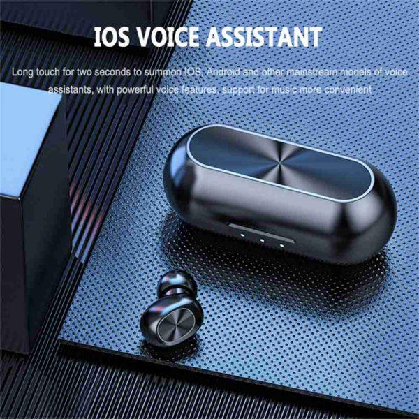 2021 Bluetooth 5.0 Wireless Headphones Earphones Mini In Ear Earbuds Android & Ios (6)