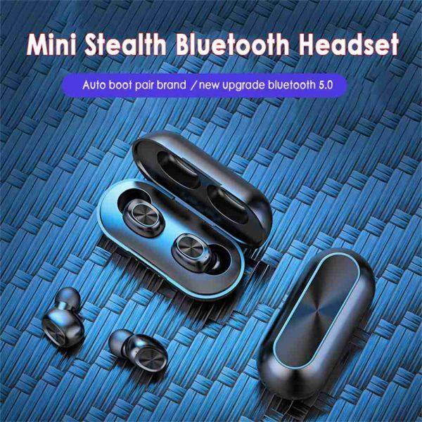 2021 Bluetooth 5.0 Wireless Headphones Earphones Mini In Ear Earbuds Android & Ios (7)