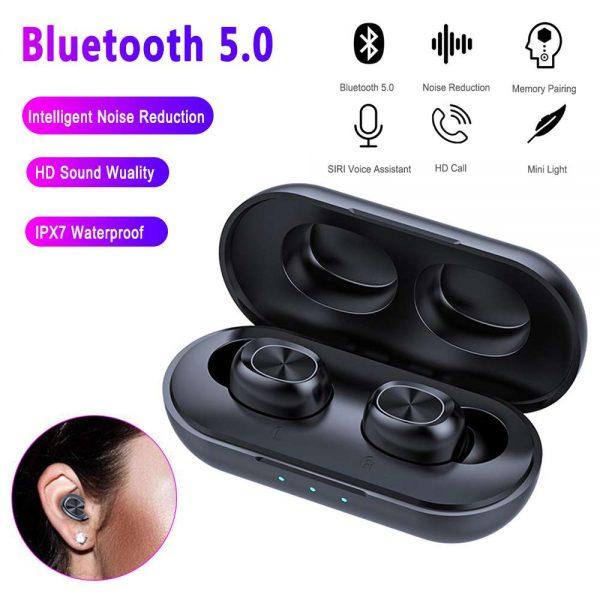 2021 Bluetooth 5.0 Wireless Headphones Earphones Mini In Ear Earbuds Android & Ios (9)