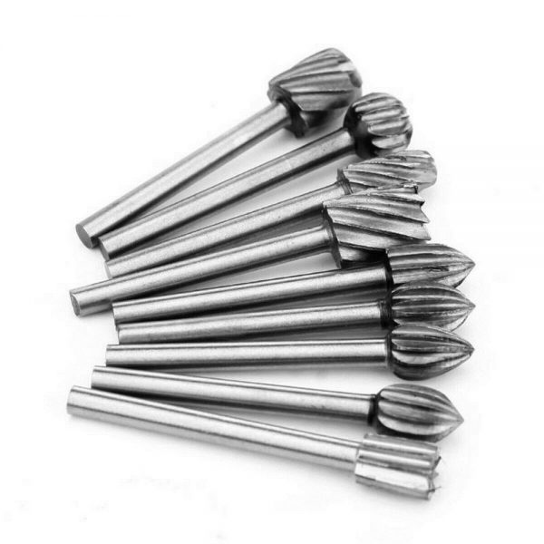 20pcs Shank Set For Wood Carving Woodworking Milling Cutter Rotary Rasp File Bit Tool For Metal Wood (7)
