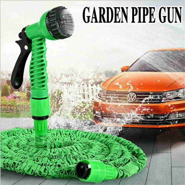 25 200ft Garden Hose Magic Pipe Expandable Compact Flexible Stretch Water Spray (11)