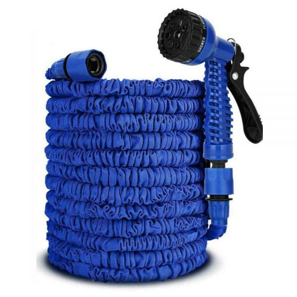 25 200ft Garden Hose Magic Pipe Expandable Compact Flexible Stretch Water Spray (16)