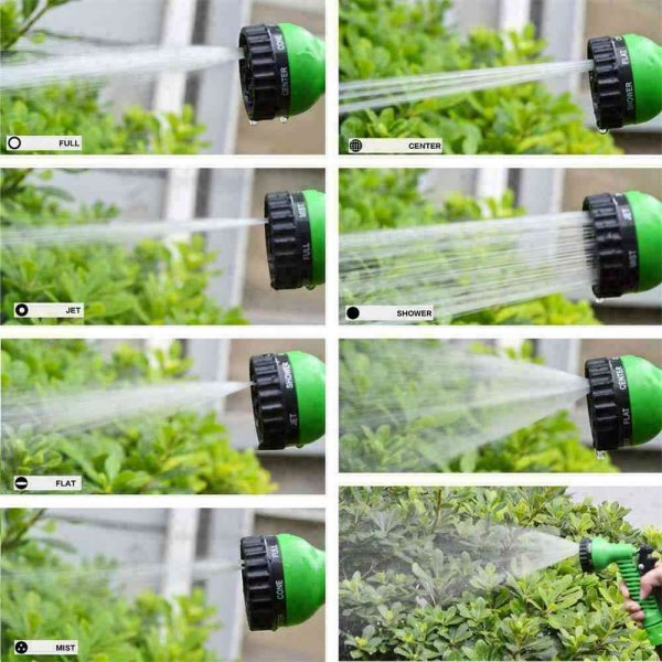 25 200ft Garden Hose Magic Pipe Expandable Compact Flexible Stretch Water Spray (18)