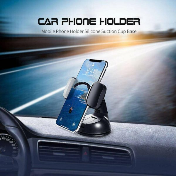 360° In Car Mobile Phone Holder Dashboard Suction Home Universal Mount Windscreen (4)