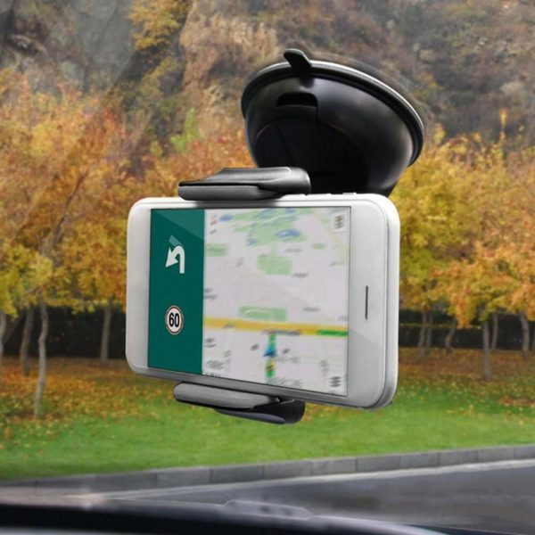 360° In Car Mobile Phone Holder Dashboard Suction Home Universal Mount Windscreen (5)