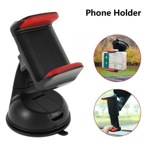 360° In Car Mobile Phone Holder Dashboard Suction Home Universal Mount Windscreen (6)