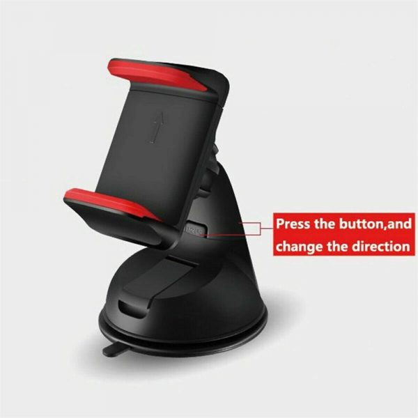 360° In Car Mobile Phone Holder Dashboard Suction Home Universal Mount Windscreen (9)