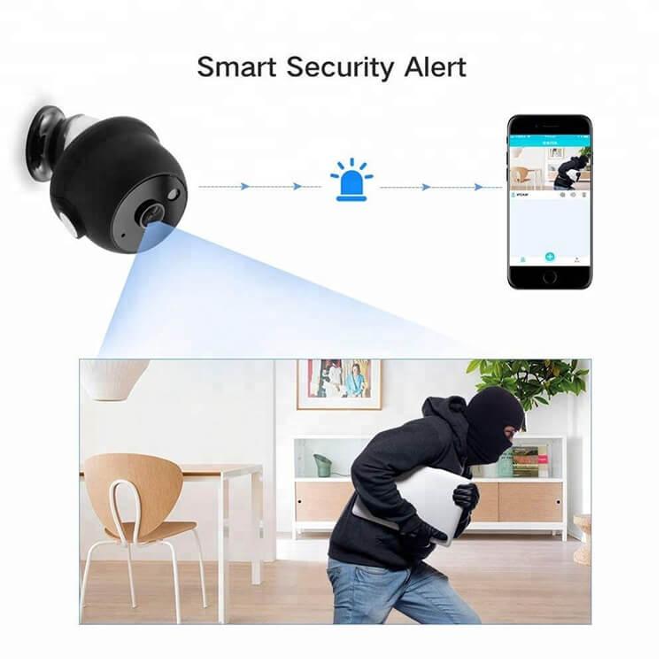 A9 Webcam Night Version Wireless Security Camera Mini Wifi Smart Camera (3)