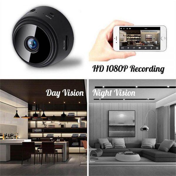 A9 Webcam Night Version Wireless Security Camera Mini Wifi Smart Camera (4)