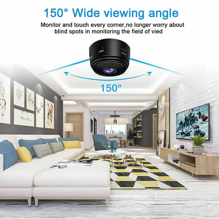 A9 Webcam Night Version Wireless Security Camera Mini Wifi Smart Camera (5)