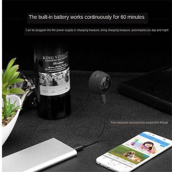 A9 Webcam Night Version Wireless Security Camera Mini Wifi Smart Camera (7)