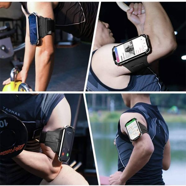 Adjustable Armband Case Cover Mobile Phone Holder For Sports Running Gym Traveling (2)