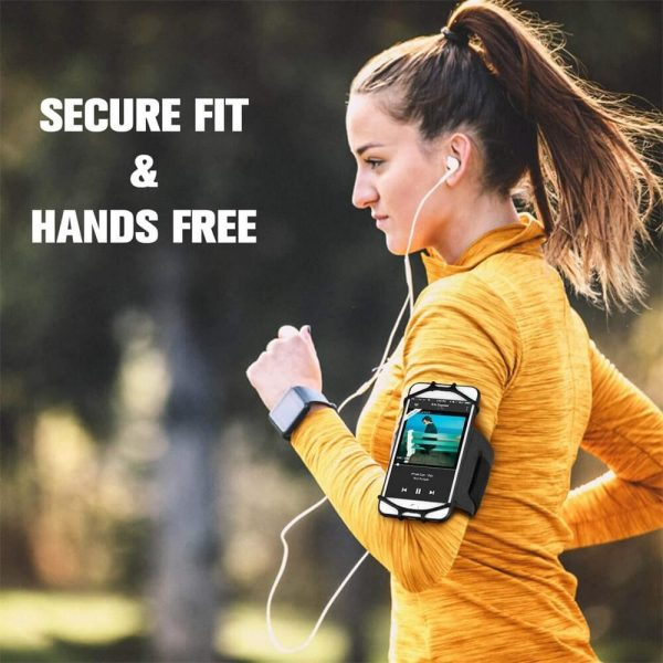 Adjustable Armband Case Cover Mobile Phone Holder For Sports Running Gym Traveling (7)