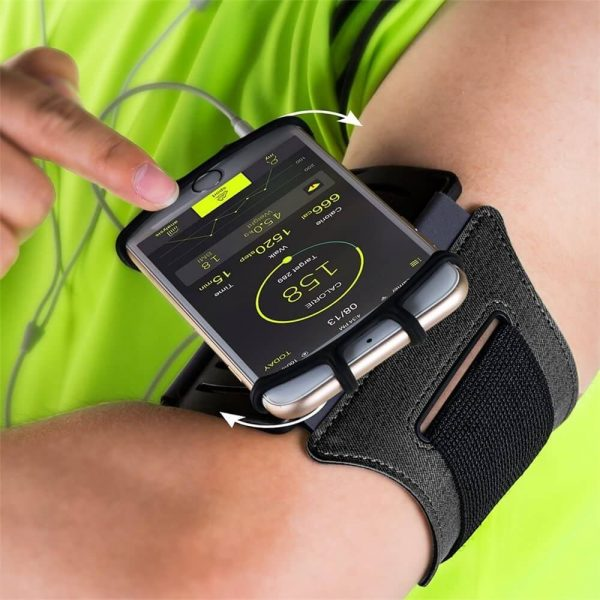 Adjustable Armband Case Cover Mobile Phone Holder For Sports Running Gym Traveling (8)