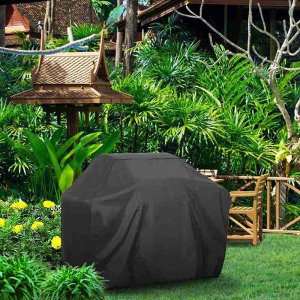 Bbq Covers Heavy Duty Waterproof Patio Barbecue Gas Smoker Grill Garden Goods Uk (11)