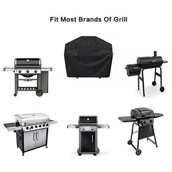 Bbq Covers Heavy Duty Waterproof Patio Barbecue Gas Smoker Grill Garden Goods Uk (16)