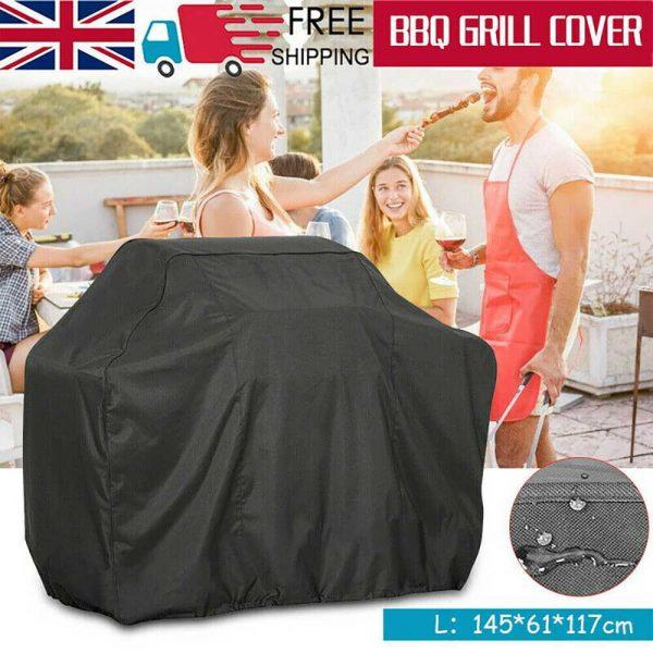 Bbq Covers Heavy Duty Waterproof Patio Barbecue Gas Smoker Grill Garden Goods Uk (22)