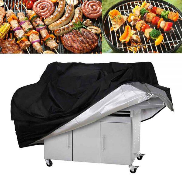 Bbq Covers Heavy Duty Waterproof Patio Barbecue Gas Smoker Grill Garden Goods Uk (7)