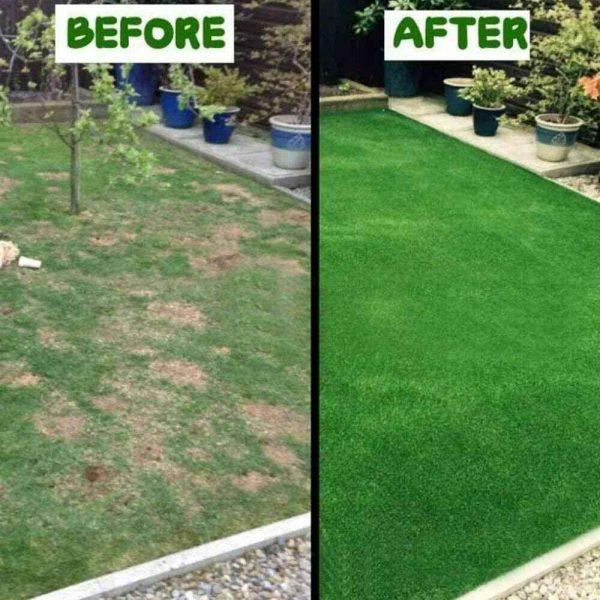 Biodegradable Grass Seed Mats Carpet Garden Backyard Lawn Pad Blanket (3)