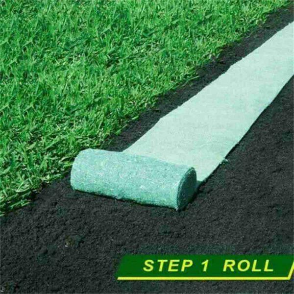 Biodegradable Grass Seed Mats Carpet Garden Backyard Lawn Pad Blanket (5)