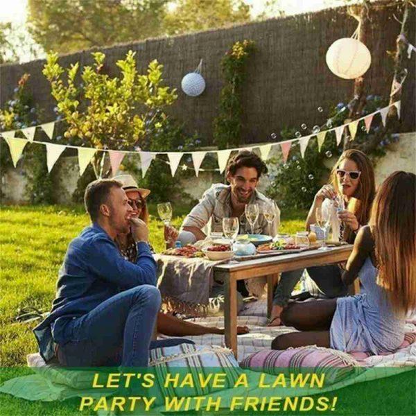 Biodegradable Grass Seed Mats Carpet Garden Backyard Lawn Pad Blanket (9)