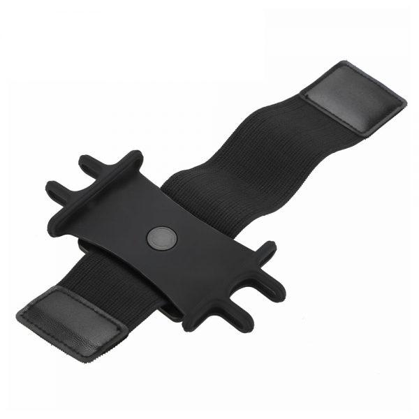 Black Adjustable Armband Case Cover Mobile Phone Holder For Sports Running Gym Traveling