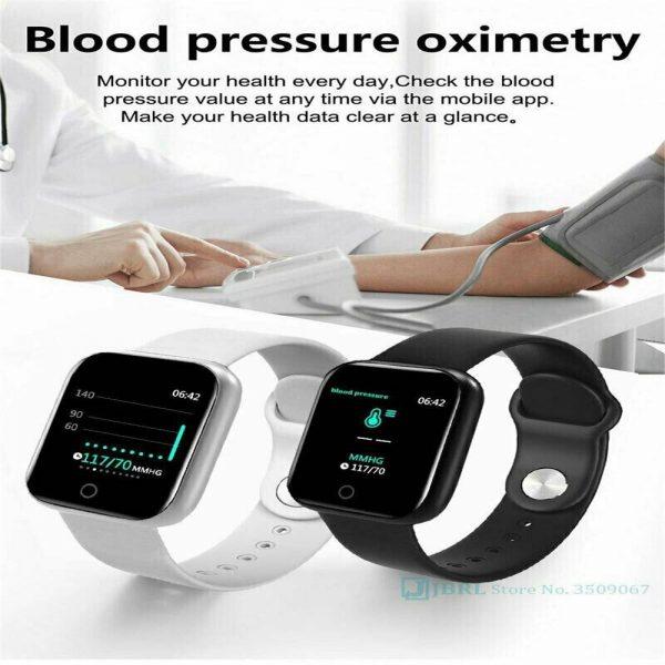 Bluetooth Smart Watch Fitness Tracker Bracelet Heart Rate Monitor Men Women (11)