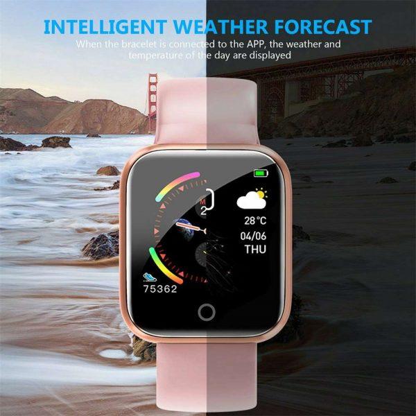 Bluetooth Smart Watch Fitness Tracker Bracelet Heart Rate Monitor Men Women (15)